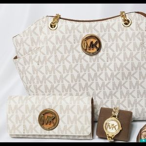 BNWT Michael Kors Bag, Wallet and Watch